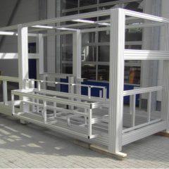 machine frame 14