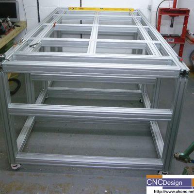 machine frame 5